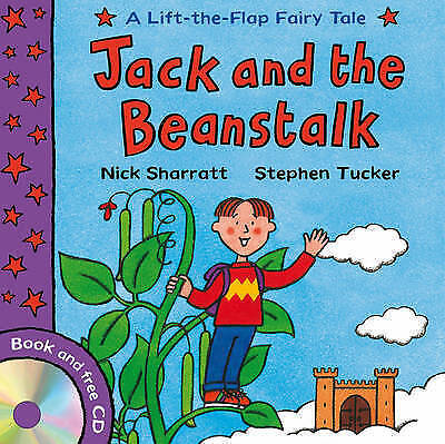 Jack and the Beanstalk (Lift-the-Flap Fairy Tales), Tucker, Stephen, Very Good B