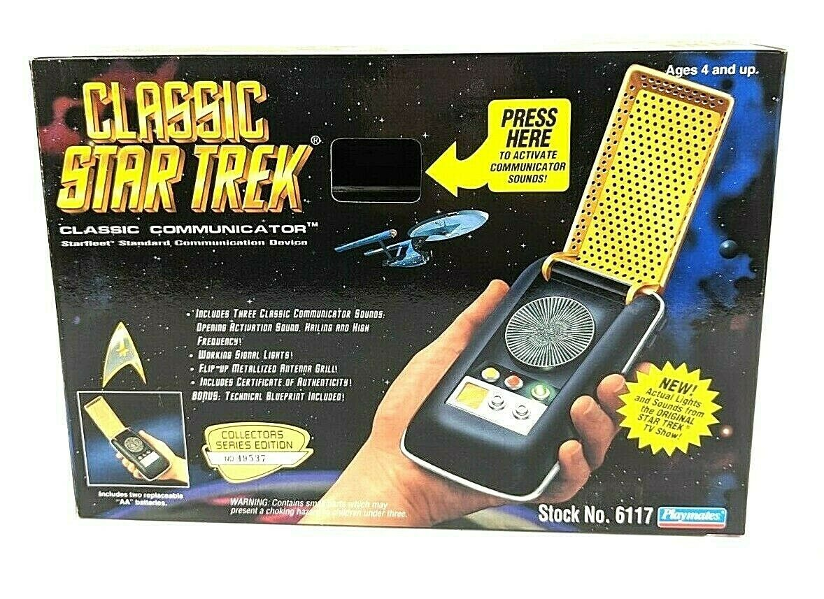 1994 Star Trek Classic Communicator - Starfleet Standard Communication Device