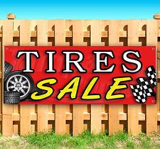 Tires Sale Advertising Vinyl Banner Flag Sign Usa 15 18 20 30 48 52