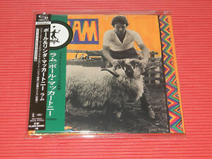Image Is Loading 2017 PAUL MCCARTNEY Ram JAPAN MINI LP SHM