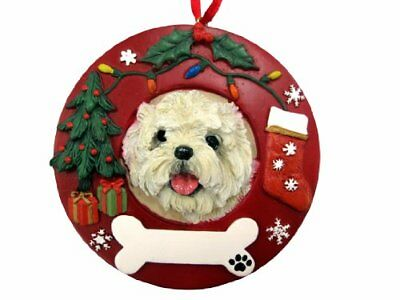 E&S Pets Cairn Terrier Personalized Christmas Ornament ...