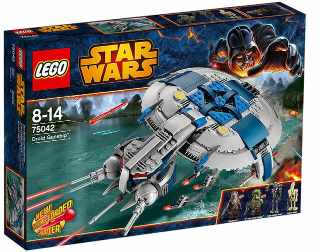 STAR WARS LEGO 75042 DROID GUNSHIP W/ MINIFIG 439 PCS BRAND NEW 2014 RELEASE