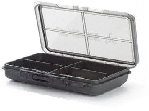 Fox F Box 4 Compartment Box, Kleinteilebox, Angelbox für Karpfenzubehör
