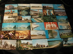 100 Mixed postcards used & unused mostly Canada some California