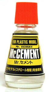 Mr-Hobby-Cement-25ml-MC124-Gunze-GSI-Creos-Paint-Model-Kit-Jar-Glue-Liquid-Tool