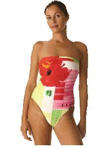 NUOVO KULU COSTUME DA BAGNO SWIMWEAR Bandeau Costume Da Nuoto Scegli Taglia RRP £ 30 8e0p