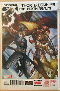 Thor-and-Loki-The-Tenth-Realm-3-Marvel-Comic-Book-NM