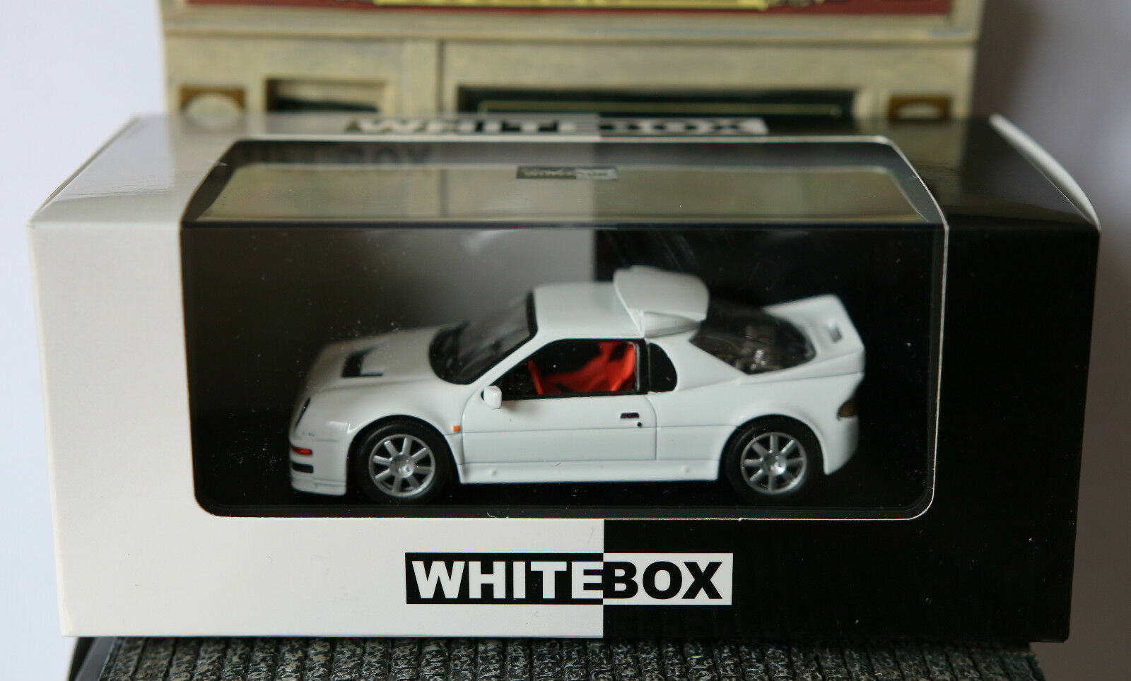 FORD RS 200 blanc 1983 blancBOX WB050 1 43 WEISS BLANCHE blanc LHD LEFT HAND DR