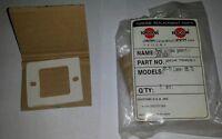 Toyostove Laser 55, 72 Peep Window Gasket 20475881