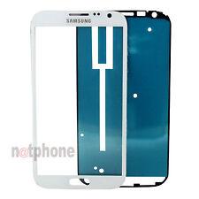 ORIGINAL LCD Display Glas Scheibe Samsung Galaxy Note 2 N7100 Touchscreen Weiß
