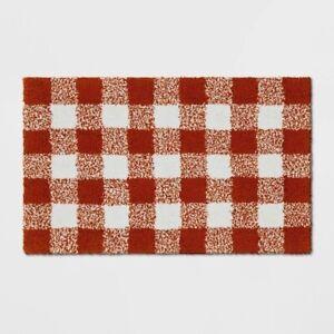Threshold Check Kitchen Rug 28 X18 White Orange Nwt 490670714947 Ebay