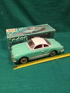 Tin-Toys-Tin-Volkswagen-Karman-Ghia-1800-Made-in-China-cm-25