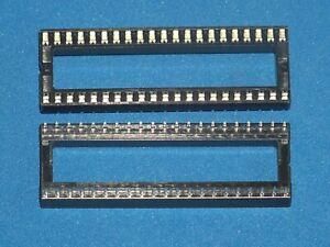 IC-Fassung / IC-Sockel, 42-polig (RM2,54), Doppelfederkontakt, Menge nach Wunsch