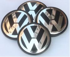 4 x VW Volkswagen 55mm Alloy Wheel Centre Hub Caps Beetle,Jetta,Bora,Polo,Golf