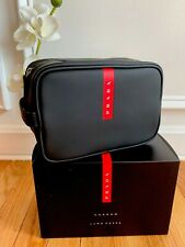 4ba98f489a8522 item 2 New Prada Luna Rossa CARBON Black Red pouch Travel bag Toiletry Dip  Shaving Case -New Prada Luna Rossa CARBON Black Red pouch Travel bag  Toiletry Dip ...