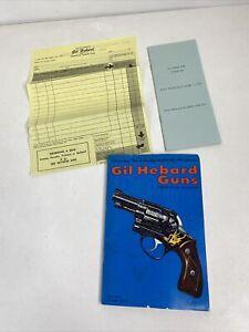 Gil Hebard Gun Catalog No.22 - 1973 & Blank Order Sheet & Price Pamphlet