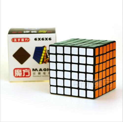 ShengShou 6x6x6 Magic Cube Puzzle Cube Kid Educational Toy for Speed Competition