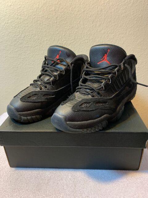 cheap for discount e9f44 a8d4b Nike Air Jordan 11 Retro Low Ie Referee Black True Red Aj11 SNEAKERS  306008-003 8.5