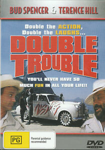Terence-Hill-Bud-Spencer-DOUBLE-TROUBLE-New-UNSEALED-Region-4-Slimline-Case