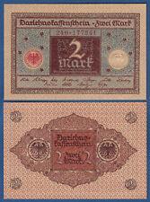 DARLEHENSKASSENSCHEIN 2 Mark 1920 KASSENFRISCH  Ro.65 a