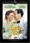 The Lady Eve 1941 DVD UK Romantic Comedy Movie Region 2
