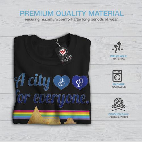 Men Black New Amsterdam Love Sweatshirt Pride Gay B6wq47