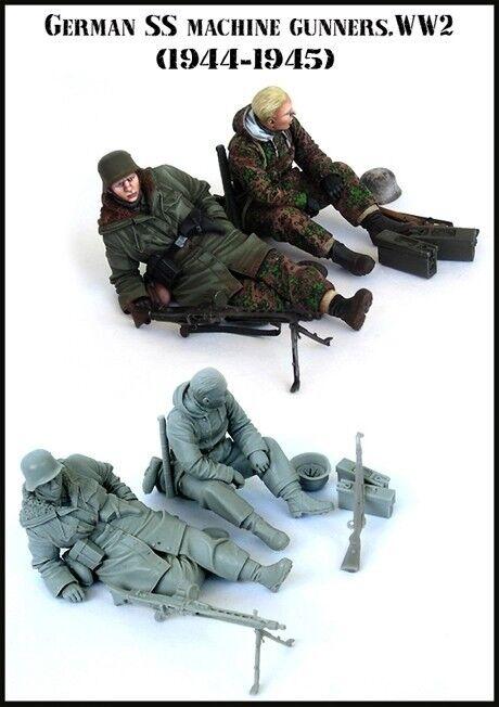 1 35 scale resin model figures kit  WW2 German soldiers