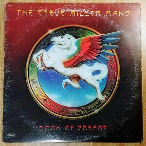 Steve Miller Band Book of Dreams LP Capitol SO-11630 1977