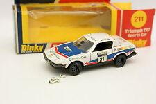 Dinky Toys GB 1/43 - Triumph TR7 Rac Rally 1977 N°21