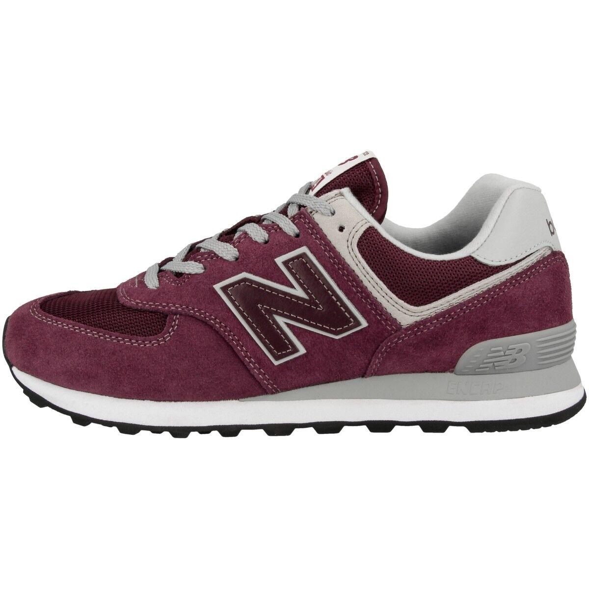 New Balance ML 574 EGB Schuhe Essential Freizeit Sport Sneaker burgundy ML574EGB