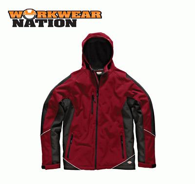 Dickies Two Tone Softshell Jacket Waterproof Coat Fleece Various Colours JW7010