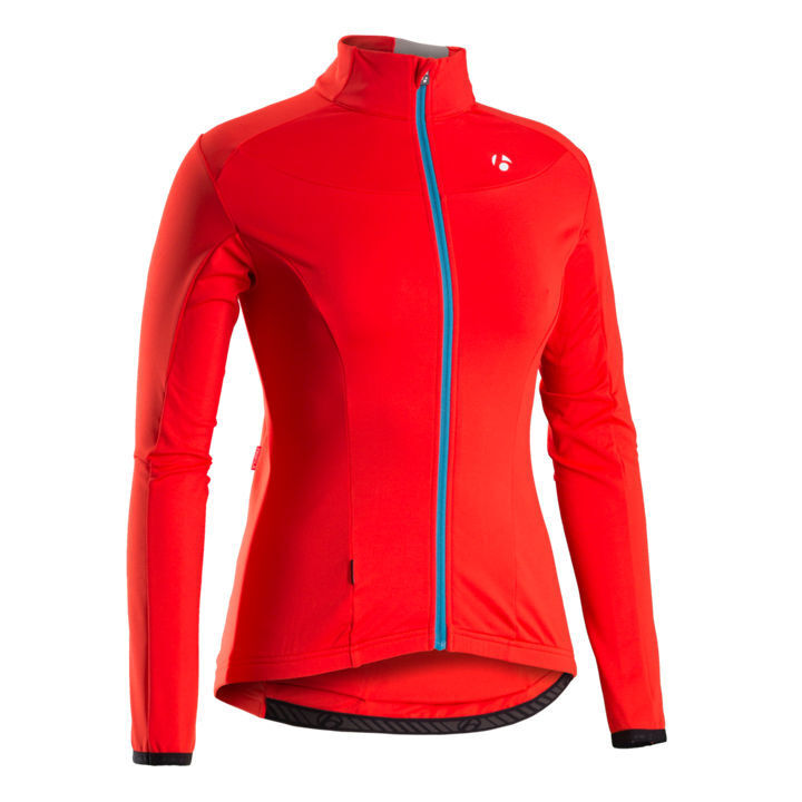 GIACCA CICLISMO BONTRAGER RXL WSD THERMAL LS JERSEY Coloreeee ROSSO taglia M