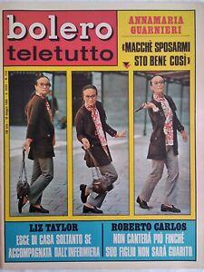 Bolero-1151-Taylor-Goggi-Anelli-Morandi-Musante-Dik-Dik-Brogi-Guarnieri-Carlos