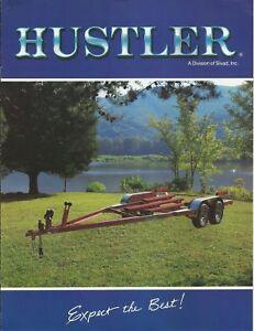 Hustler boat trailer Tell