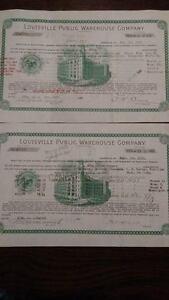 1919-1920-Prohibition-Era-Whiskey-Certificates-BOURBON-MAN-CAVE-BAR-DECOR