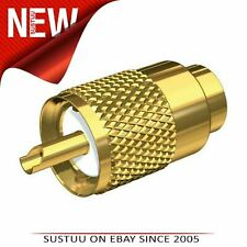 Shakespeare Centerpin Connector PL-259-CP-G Gold-Plated Marine MD