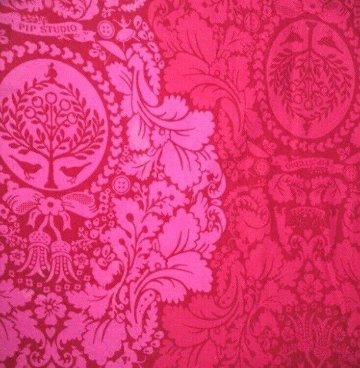 Andet, Gardiner dæk lagen til seng rød pink pip studio