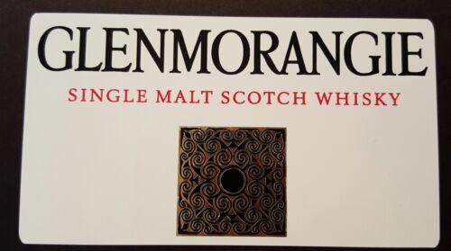 decal Glenmorangie scotch whisky sticker