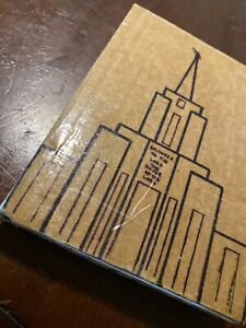 Custom The Book of Mormon Reno Nevada Mission Temple Scripture LDS Missionary