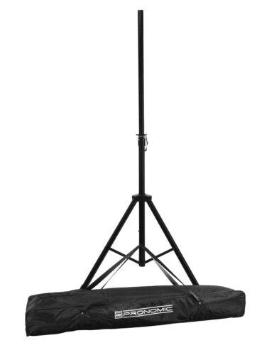 für DJ PA-Lautsprecher inkl Tasche Bag Super Boxenstativ aus stabilem Stahl