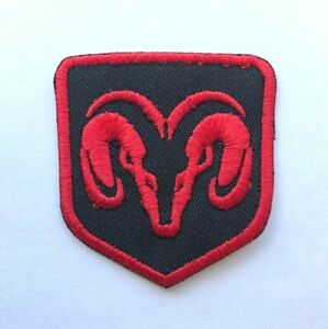 Dodge-Car-Brand-Racing-Embroidered-Iron-On-Sew-On-Patch-Badge