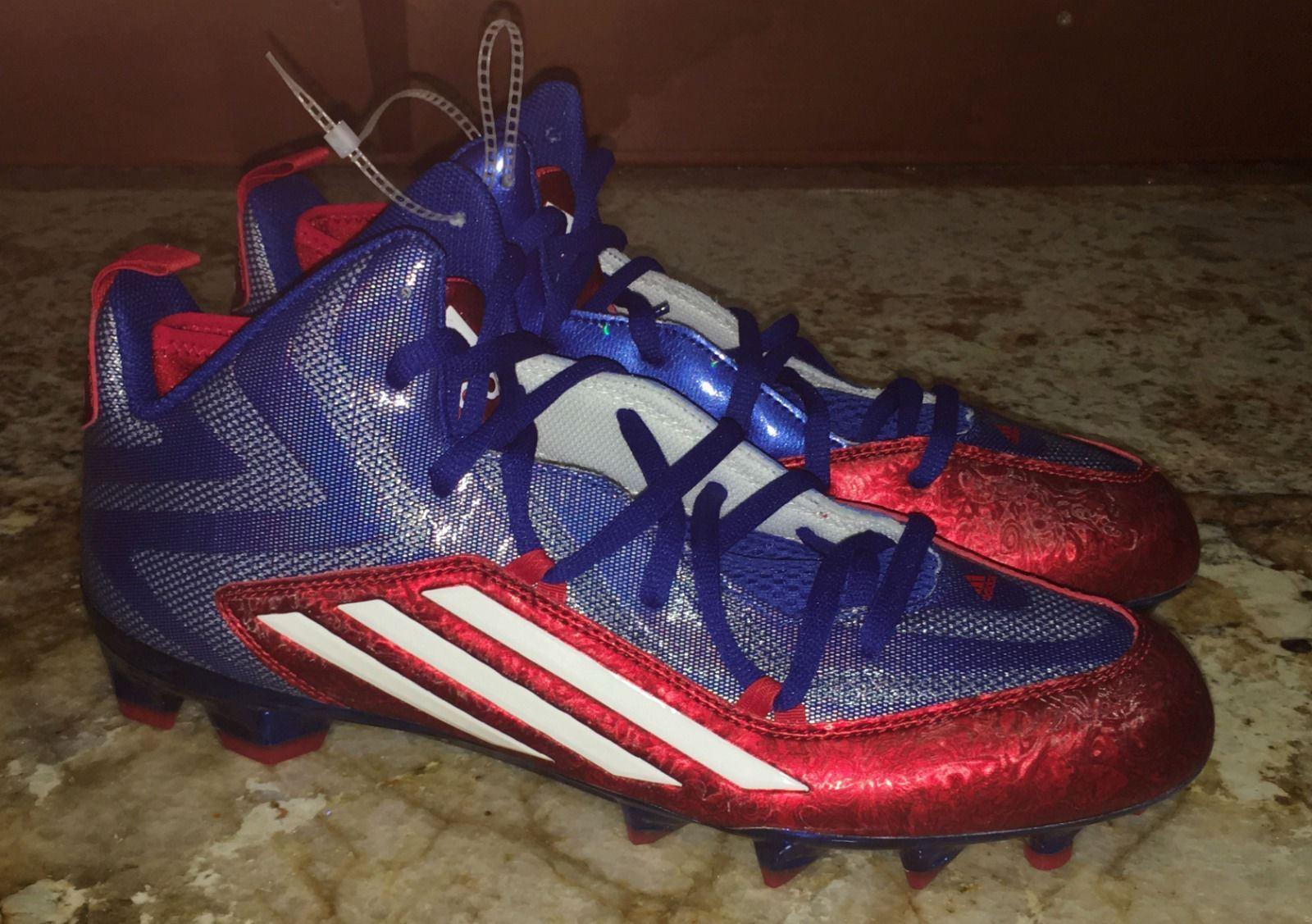 Adidas crazyquick 2.0 Mediados de TD Royal Azul Rojo Rojo Azul Blanco Football cleats New Hombre sz 13 nuevos zapatos para hombres y mujeres, el limitado tiempo de descuento 0e7948