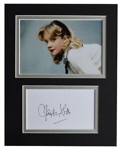 Helpful Hayley Mills Signed Photo W/ Hologram Coa Movies