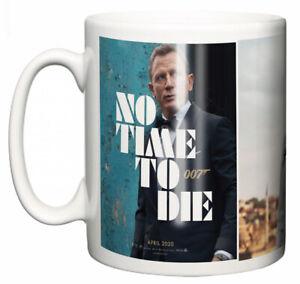 Dirty Fingers Mug, Daniel Craig James Bond No Time To Die, Film Poster Design