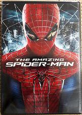THE AMAZING SPIDER-MAN (DVD: 1, 2012, WS, PG-13) ANDREW GARFIELD EMMA STONE NEW