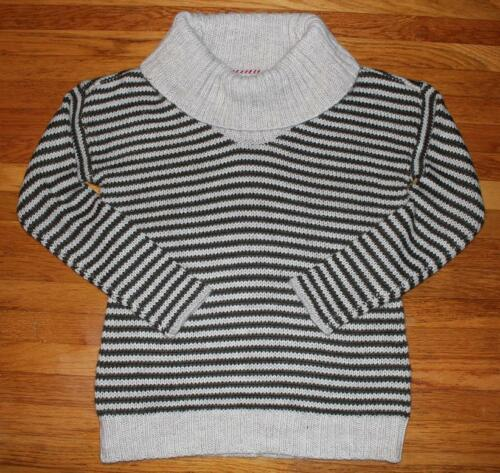 Banana Republic Heritage Cable Knit Striped Cowlneck Sweater Size Large NWT