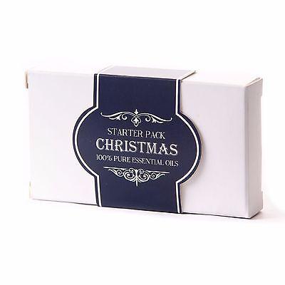 Mystic Moments | Essential Oil Starter Pack - Christmas (5 x 10ml) (SP10EOCHRI)