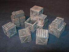 Escala 1/35-Cajas / estiba Pack Diorama o accesorios de vehículos