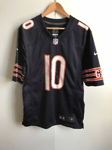 the latest d349d 1e554 Details about Chicago Bears Nike NFL Men's 2018 Home Game Jersey - Small -  Trubisky 10 - New