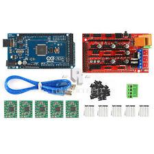 New LT 3D Printer Kit Mega 2560 + RAMPS 1.4 + 5X A4988 for Arduino RepRap